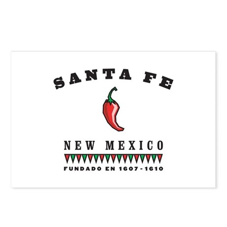 Santa Fe Pepper Postcards (Package of 8)