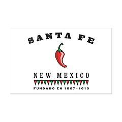 Santa Fe Pepper Posters