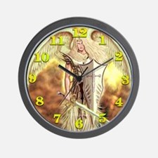 Saint Archangel Michael Wall Clock