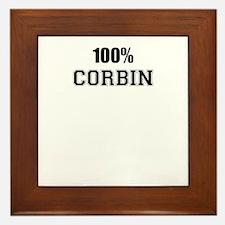 100% CORBIN Framed Tile