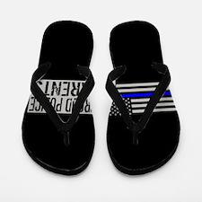 Police: Proud Parents (Black Flag Blue Flip Flops