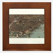 new york city Framed Tile