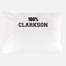 100% CLARKSON Pillow Case