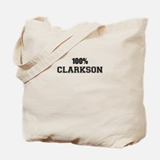 100% CLARKSON Tote Bag