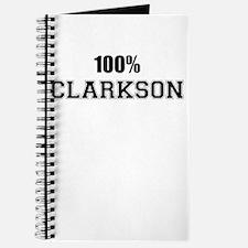 100% CLARKSON Journal