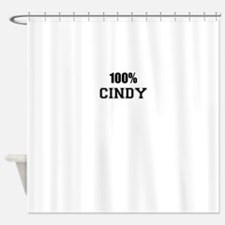 100% CINDY Shower Curtain