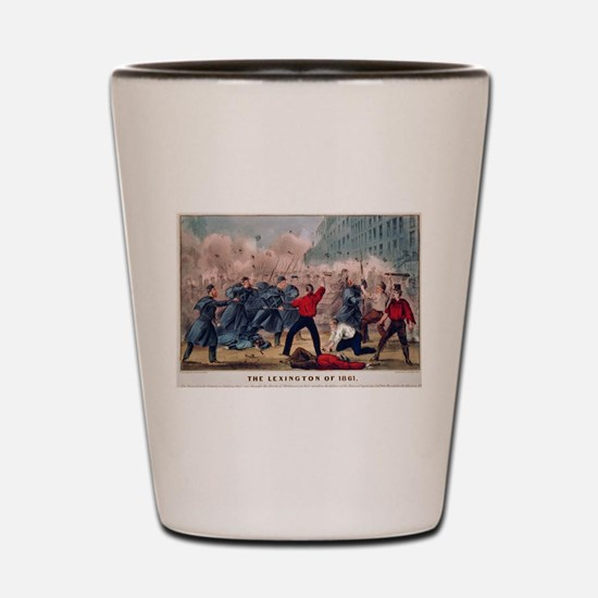 lexington Shot Glass