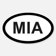Miami Oval Decal