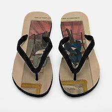 currier ives 19th century illustration Flip Flops