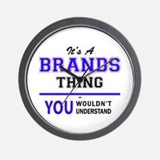 BRANDON thing, you wouldn't understand! Wall Clock