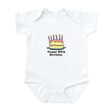 Happy 90th Birthday Infant Bodysuit