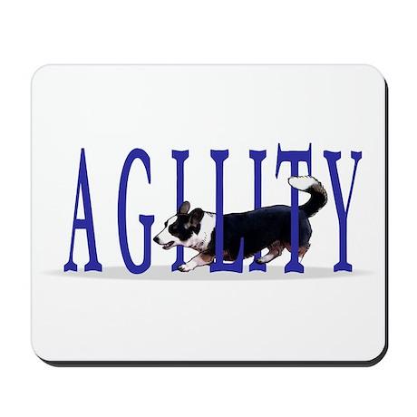 Tri Cardigan Corgi Agility Mousepad