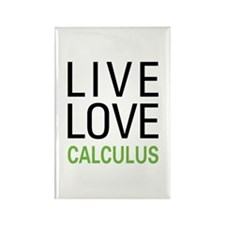 Live Love Calculus Rectangle Magnet (100 pack)