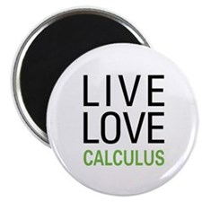 Live Love Calculus Magnet