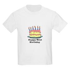 Happy 81st Birthday T-Shirt