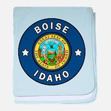 Boise Idaho baby blanket