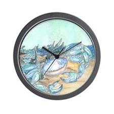 Cozy Seaside Cottage Wall Clock