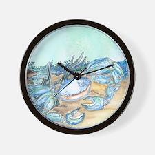 Cozy Seaside Cottage Wall Clock