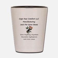 Cape Fear Jack Pot Box Shot Glass