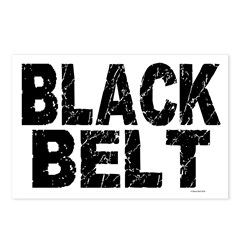 BLACK BELT - WEATHERED 1 Postcards (Package of 8)
