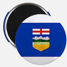 """Alberta Flag 2.25"""" Magnet (100 pack)"""