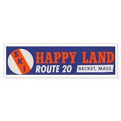 Happy Land, MA Bumper Bumper Sticker