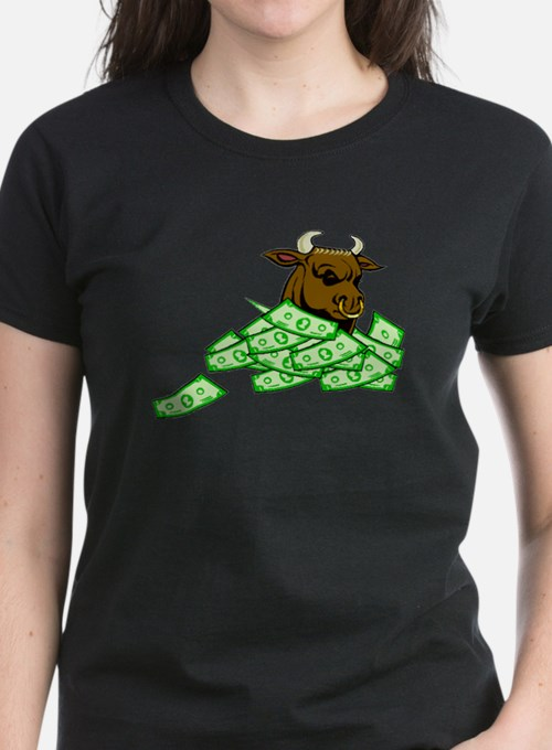 Bull With Money T-Shirt