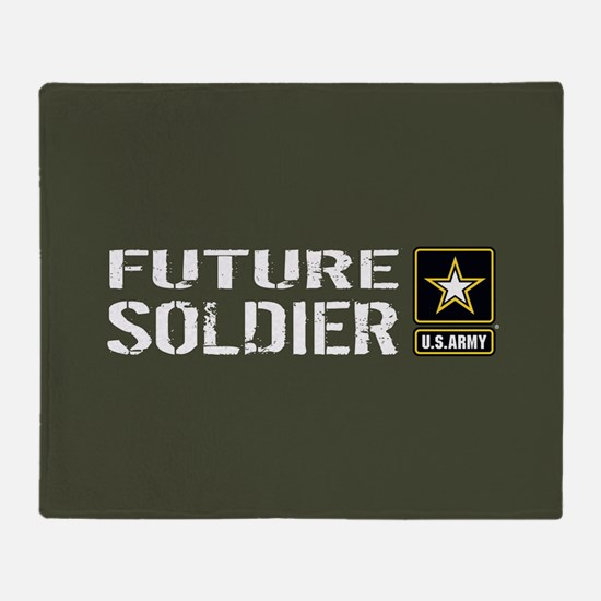 U.S. Army: Future Soldier (Military Throw Blanket
