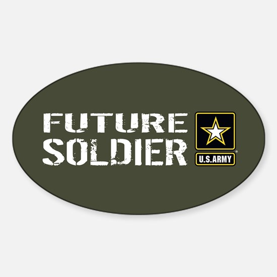 U.S. Army: Future Soldier (Military Sticker (Oval)