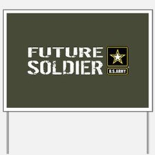 U.S. Army: Future Soldier (Military Gree Yard Sign