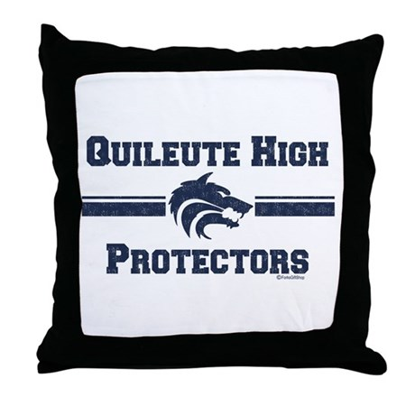 Quileute High Protectors Throw Pillow