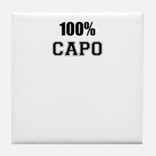 100% CAPO Tile Coaster