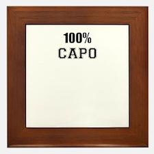 100% CAPO Framed Tile