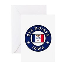 Des Moines Iowa Greeting Cards