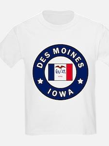 Des Moines Iowa T-Shirt