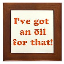 oil for that Framed Tile