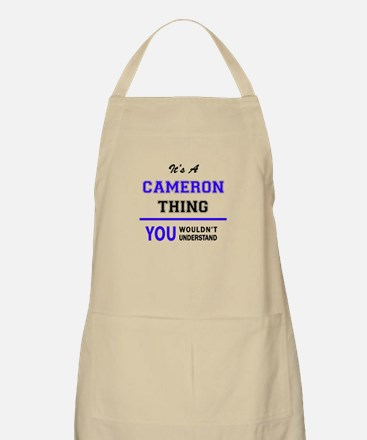 CAMERO thing, you wouldn't understand! Apron