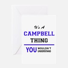 CAMPBELL thing, you wouldn't unders Greeting Cards