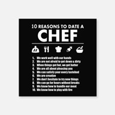 Reasons To Date A Chef Sticker