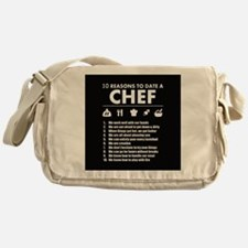Reasons To Date A Chef Messenger Bag