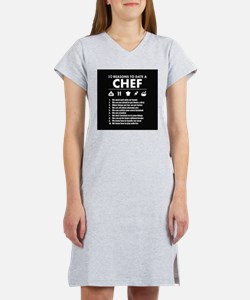 Reasons To Date A Chef Women's Nightshirt