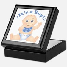 "* It's a Boy! "" Keepsake Box"