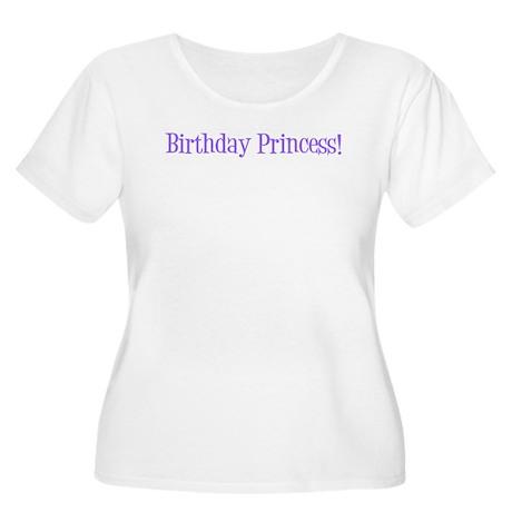 Birthday Princess! Women's Plus Size Scoop Neck T