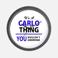 CARLO thing, you wouldn't understand! Wall Clock