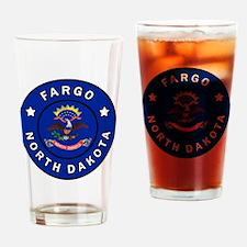 Cute Minot north dakota Drinking Glass