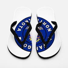 Fargo North Dakota Flip Flops