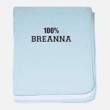 100% BREANNA baby blanket