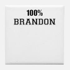 100% BRANDON Tile Coaster