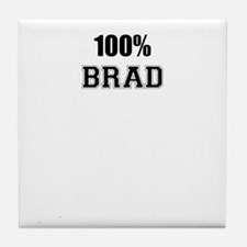 100% BRAD Tile Coaster