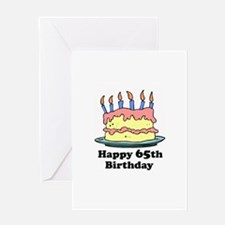 Happy 65th Birthday Greeting Card
